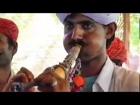 Kambhir Khan Langa on Pungi