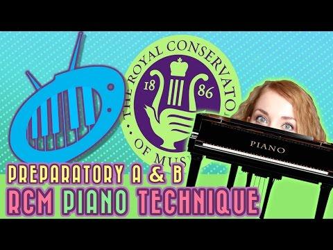 RCM Preparatory A & B: Piano Technique