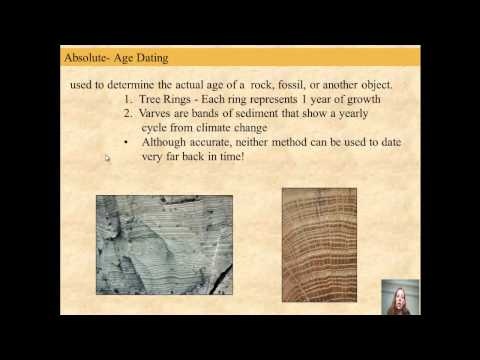 dating of rocks fossils and geologic events answers