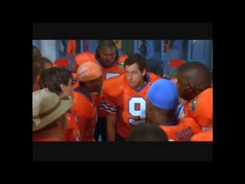 remember when Bobby Boucher turned up at half time...