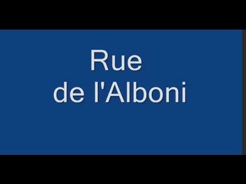 Rue de l'Alboni Paris Arrondissement  16e