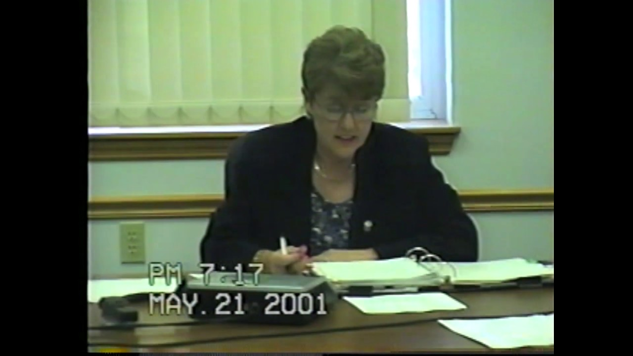 Rouses Point Village Board Meeting  5-21-01