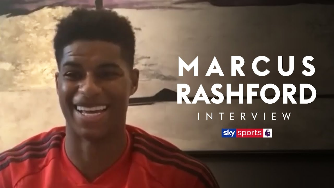 Marcus Rashford reacts to the government's u-turn on free school meals and returning to football