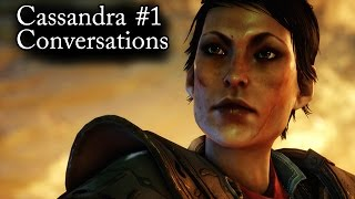 Dragon Age Inquisition: Speaking With Cassandra