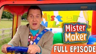 Junk Letter Make | Episode 1 | Full Episode | Mister Maker Comes To Town