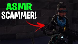 Rich ASMR Scammer Tried To Scam Me! (Scammer Get Scammed) Fortnite Save The World