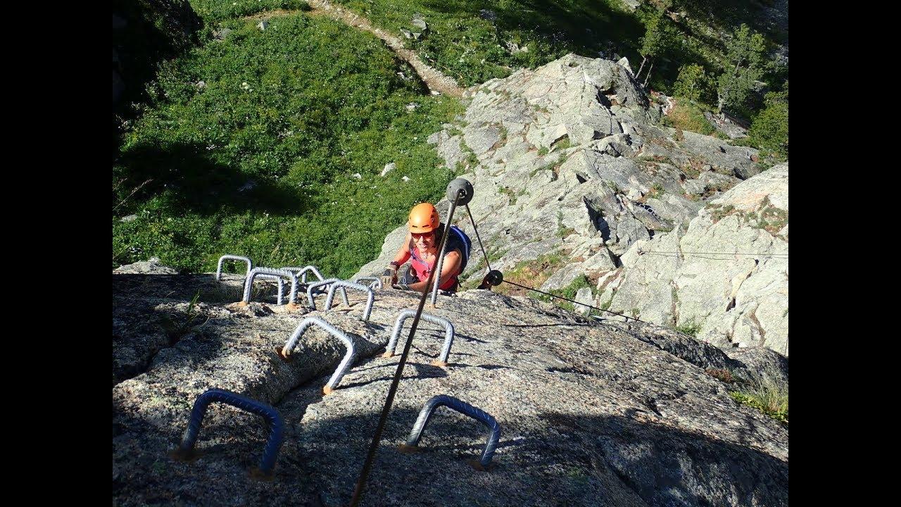 Klettersteig La Resgia : Bushcraft mäke klettersteig la resgia pontresina youtube