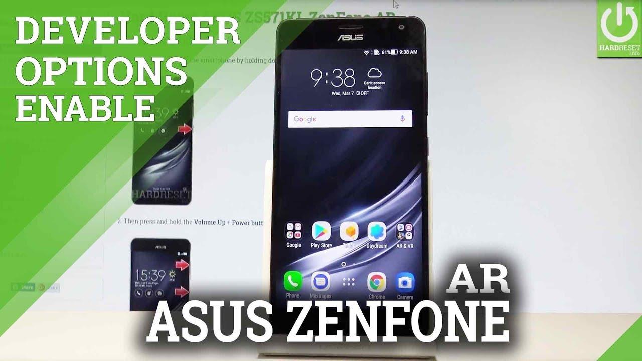 How to Enable Developer Options in ASUS ZenFone AR |HardReset Info