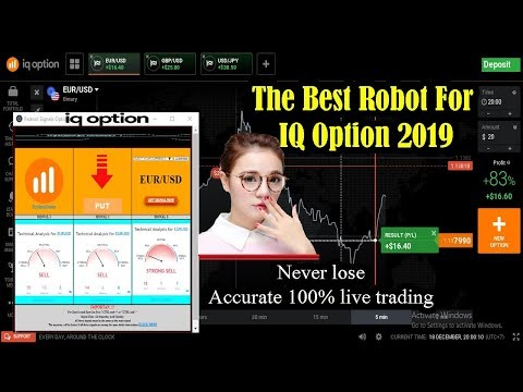 The Best Robot For Iq Option 2019 |  accurate 100% live trading NEW TRICK – Iq option strategy