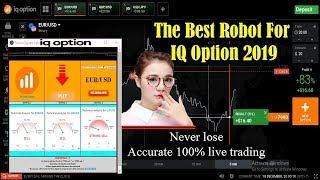 The Best Robot For Iq Option 2019 |  accurate 100% live trading NEW TRICK - Iq option strategy