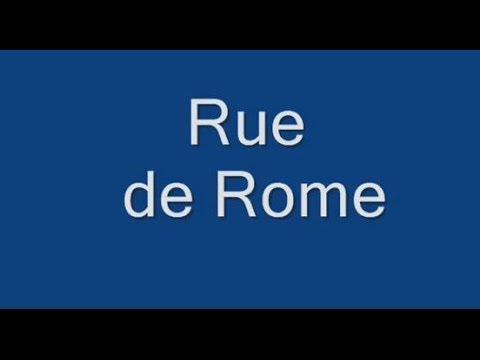 Rue de  Rome Paris Arrondissement  8e et 17e