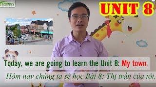 Unit 8: Thị trấn của tôi - Series dạy học tiếng anh cho trẻ em tại nhà của Sabiedu