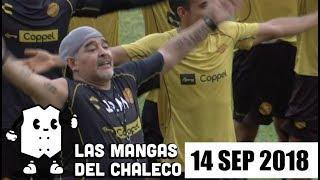 Las Mangas del Chaleco: Maradona en México y los tuppers de la nueva legislatura