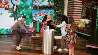 Ellen's Audience Gets a 12 Days Surprise in a Game of 'Find the Thingy'