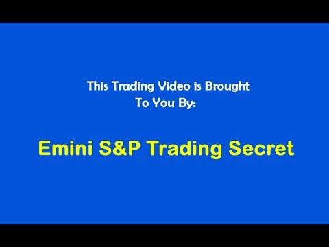 Emini S&P Trading Secret $1,140 Code 3 Profit