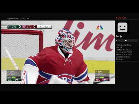 stelen1111 NHL Live Montréal Canadians against Dallas stars