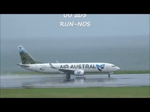 Roland Garros Airport Plane Spotting.Takeoffs and Landings( RUN/FMEE)