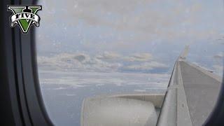 GTA 5 - 757 LSIA to LSHR (Sandy Shores) Full Flight