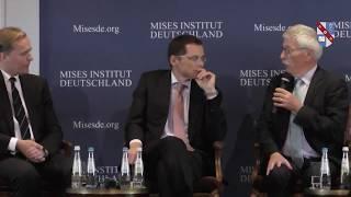 """Ludwig von Mises Institut Konferenz 2018 """"Politik zwischen Wirklichkeit und Utopie"""": Zuschauerfragen"""