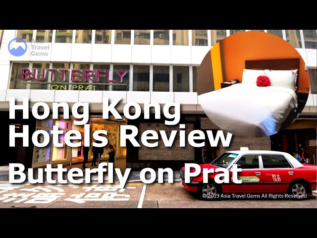 Hong Kong Hotels Review - Butterfly on Prat Boutique Hotel Tsim Sha Tsui
