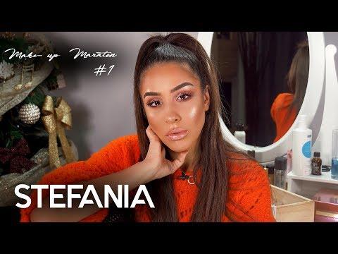 MARATON de MAKE-UP #1 🎄💎💄   Stefanias Vlog