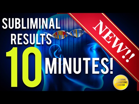🎧 GET SUBLIMINAL RESULTS IN 10 MINUTES! SUBLIMINAL AFFIRMATIONS BOOSTER! RESULTS NOW! 🎧