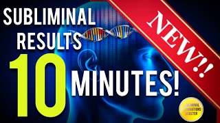 GET SUBLIMINAL RESULTS IN 10 MINUTES SUBLIMINAL AFFIRMATIONS BOOSTER RESULTS NOW