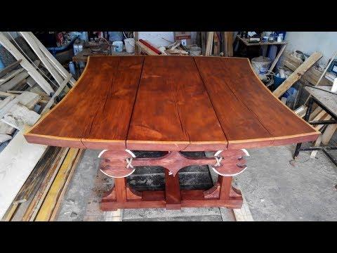 стол из дерева своими руками handmade wooden table
