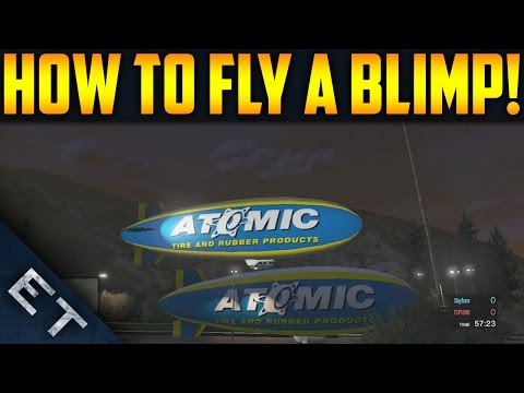 GTA V Online - How To Get & Fly The Atomic...