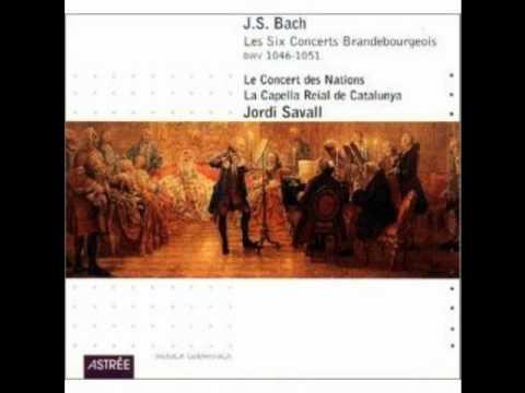 "J.S. Bach ""Brandenburg Concerto No 1"" (Les Concert des Nations) 1/4"