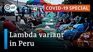 Lambda variant pushes up death toll in Peru