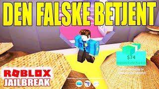 JAILBREAK - DEN FALSKE BETJENT ?! - DANSK ROBLOX - [#15]