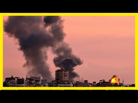 Israel responds to mortar fire from gaza with air strikes