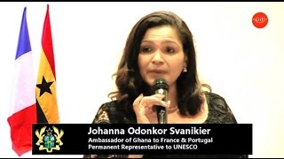 Ghana@58 Official Speech by The Ghana Ambassador to France H.E. Johanna Odonkor Svanikier