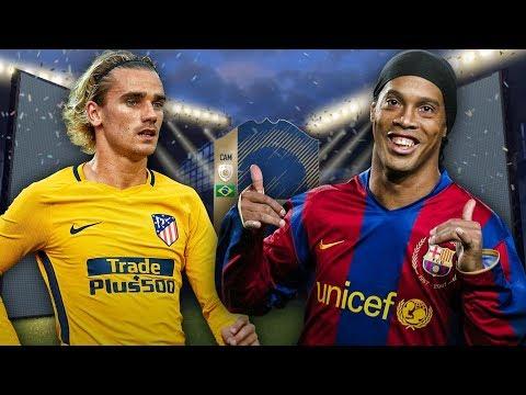 TRAFIŁEM RONALDINHO! PIERWSZA IKONA NA POLSKIEJ SCENIE FIFY! | FIFA 18