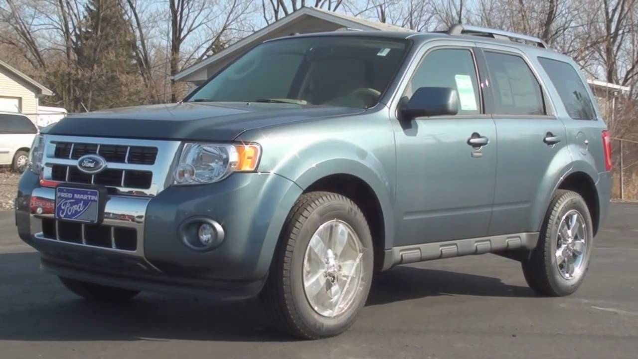 MVS - 2011 Ford Escape Limited - YouTube