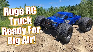 Big Brushless Beast! HoBao Racing Hyper MT Plus II RTR BL Monster Truck Review   RC Driver