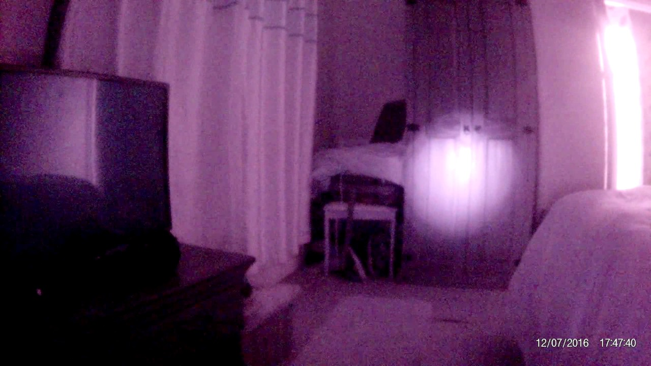 full spectrum cam left in bedroom youtube