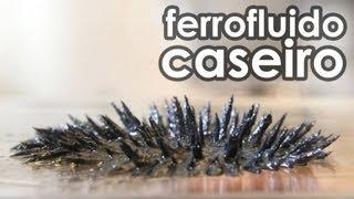 Como fazer ferrofluido caseiro (RECEITA DE FERROFLUIDO)