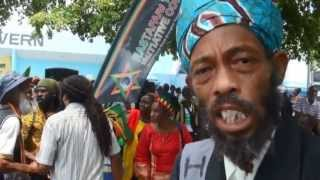 Jamaica march for Rights and Justice Running Africa MCK