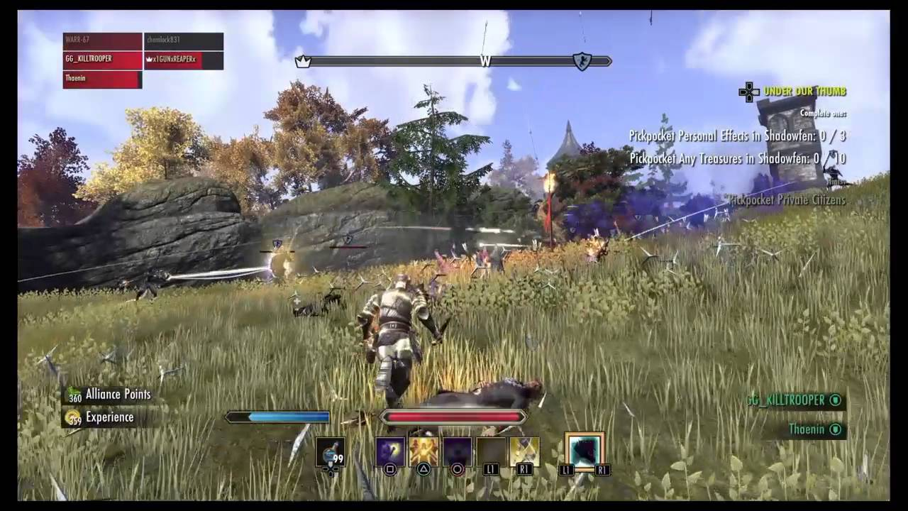ESO PvP: The Best Place to AP Farm in Cyrodiil  [Ep 17] Post Thieves Guild