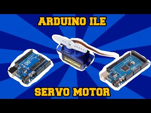 Rc Servo Motor Arduino İle Nasıl Kullanılır ?