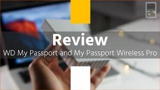WD My Passport и My Passport Wireless Pro - обзор двух внешних накопителей