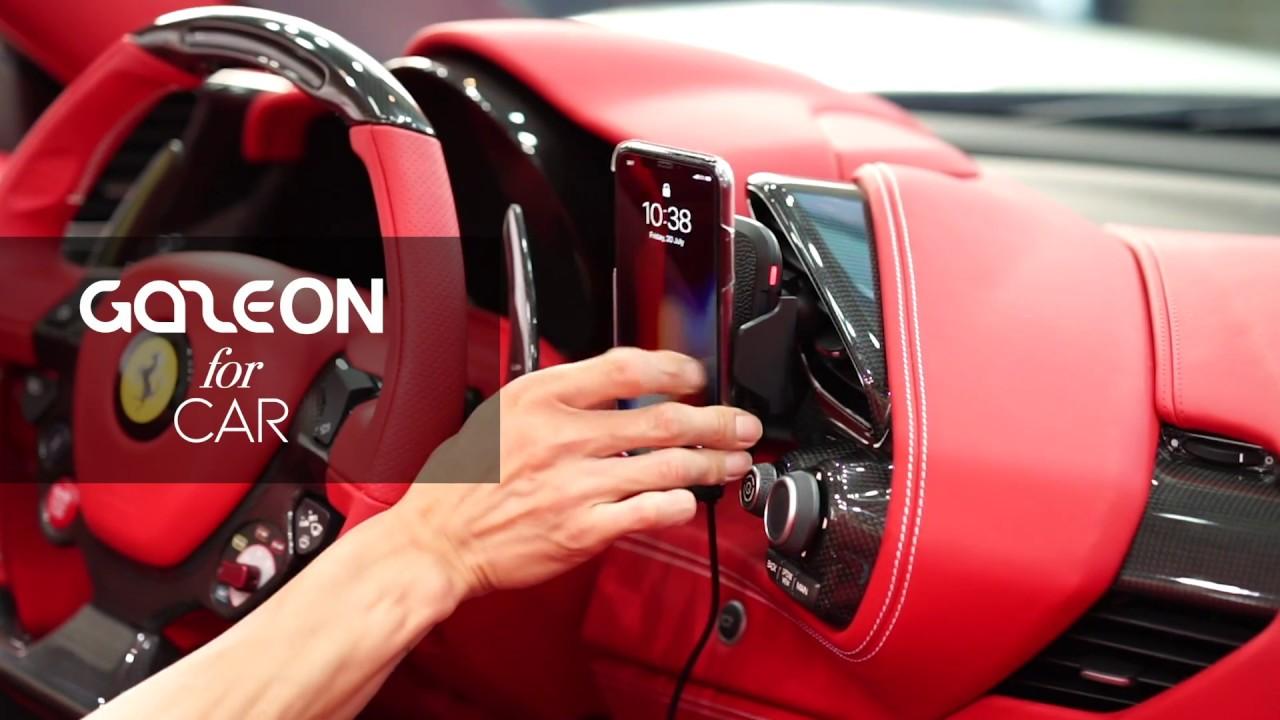 GAZEON Wireless Car Charger video thumbnail