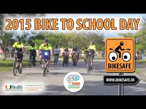 Bike to School Day 2015 | North Dade Middle School | BikeSafe