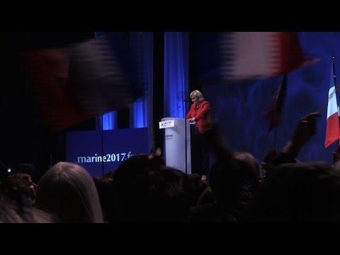Politique: Marine Le Pen s