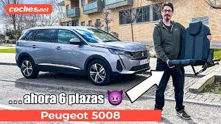 PEUGEOT 5008: ¿Mejor que el 3008? | SUV familiar 7 plazas 2021 | Prueba en español | coches.net