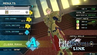 [PS4] Fate/Extella Link - MAX QP | ALL STAGES 100% VERY HARD | GOLD TROPHY SAVE