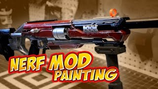 Nerf Mod RedHood Accustrike Alphahawk how to paint