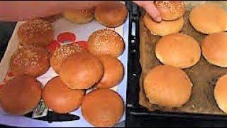 Идеальные булочки для бургеров ./Булочки рецепт ./Тесто для булочек ./Домашняя выпечка .